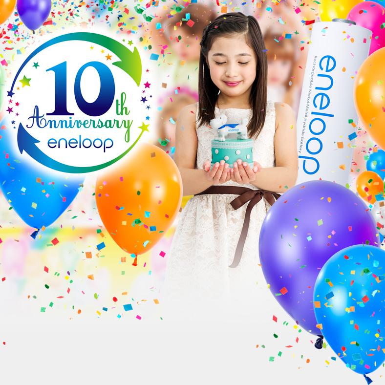 Zobacz jak eneloop świętował swoje 10 urodziny