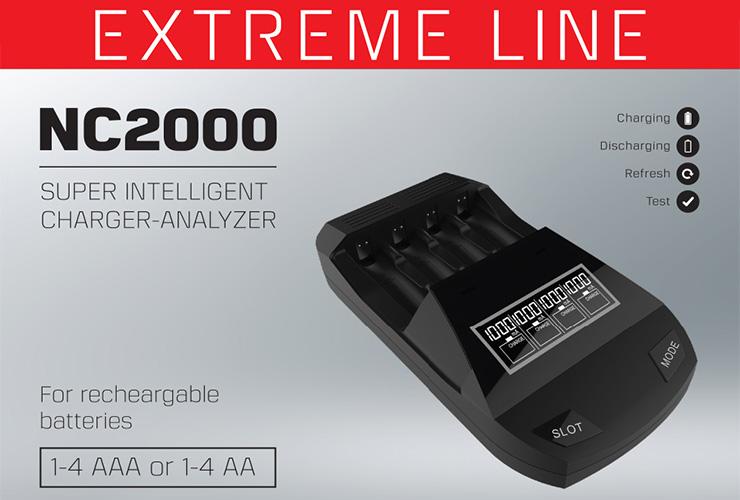 Polecamy ładowarkę Extreme Line NC 2000